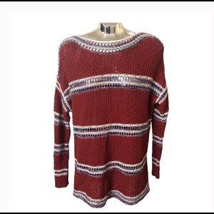 Eddie Bauer Open Knit Sweater Size L